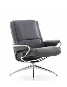 Stressless Paris Low Back fauteuil bruin