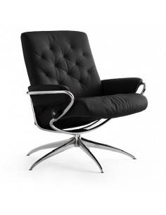 Stressless Metro Low Back fauteuil zwart