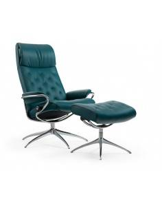 Stressless Metro High Back fauteuil petrol