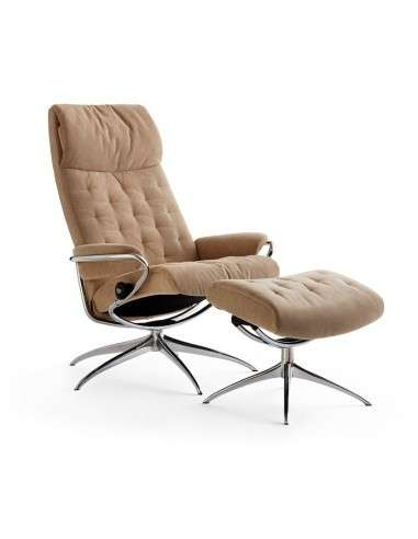 Stressless Metro High Back fauteuil taupe